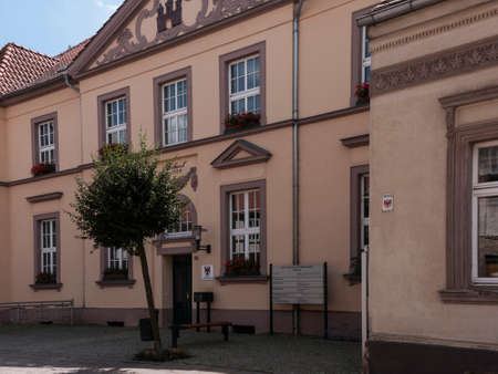 administrative buildings: Gransee, county Oberhavel, state Brandenburg, Germany - city hall Editorial