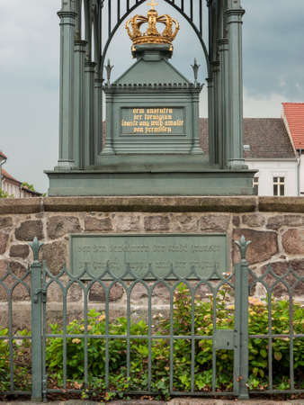 Gransee, county Oberhavel, state Brandenburg, Germany - Memorial Queen Luise Stock Photo - 37547816