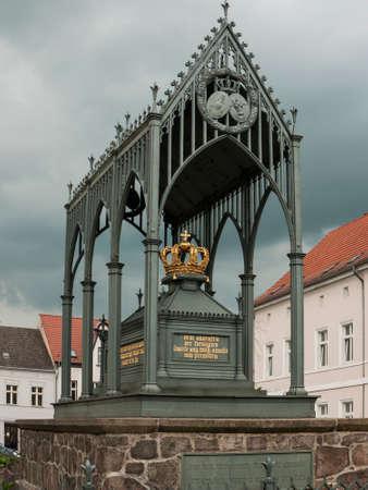 Gransee, county Oberhavel, state Brandenburg, Germany - Memorial Queen Luise Editorial