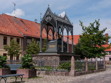 Gransee, county Oberhavel, state Brandenburg, Germany - Memorial Queen Luise Stock Photo - 37547819