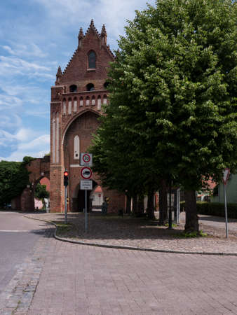 Gransee, county Oberhavel, state Brandenburg, Germany - Ruppiner Gate