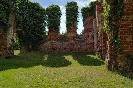 relict: Himmelpfort; Brandenburg; Furstenberg; Oberhavel; Uckermark - relicts of old monastery