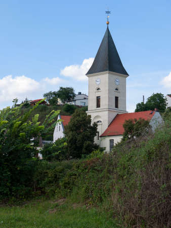 small country town: Lebus is a small town on the Oder River north of Frankfurt (Oder) and the official residence of the country Lebus. Here was probably already in the 9th century the main castle of the tribe of Leubuzzi, a West Slavic tribal association. - here: Church