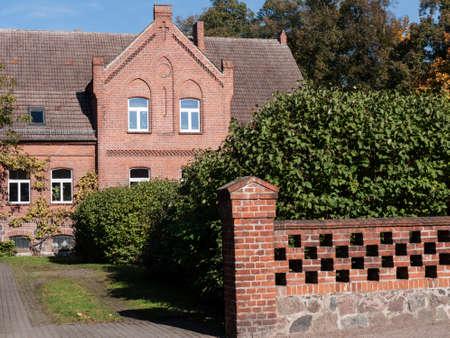 The village Lichterfelde is located near Eberswalde in Brandenburg, northeast of Berlin. - here: manse