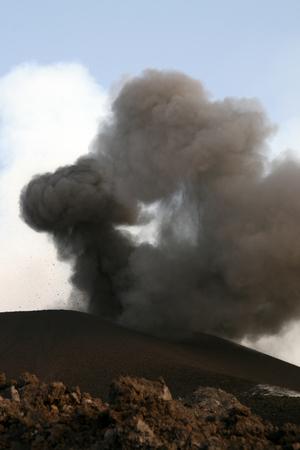 etna: etna volcano Stock Photo