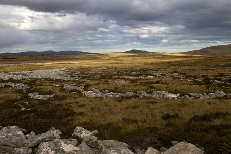 falkland: Falkland Islands Landscape Stock Photo