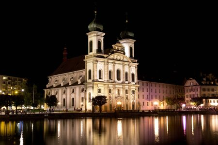 swiss culture: Jesuit Church Lucerne