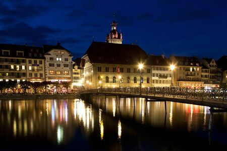 swiss culture: Old town of Lucerne