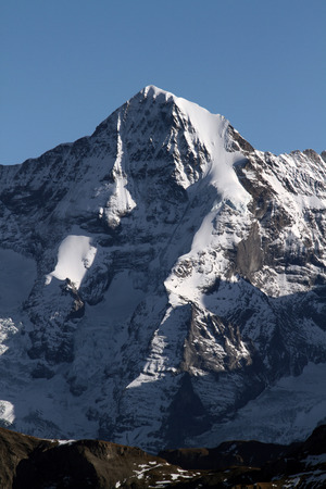 eiger: Eiger Northface in the Swiss alps Stock Photo