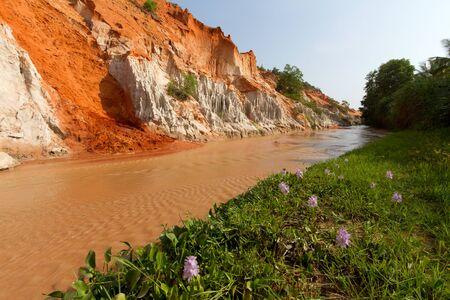 ne: Fairy springs in Mui Ne, Vietnam