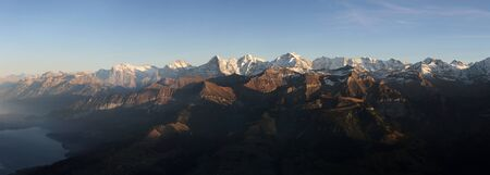 bernese oberland: Eiger, Moench, Jungfrau in the Bernese Oberland