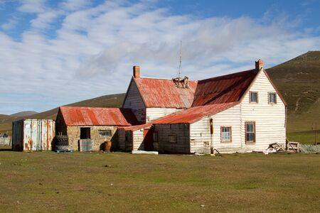 falkland: Old Farmhouse on Falkland Islands