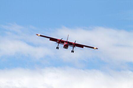 flight mode: Airplane for landing, Falkland Islands