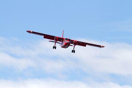 falkland: Airplane for landing, Falkland Islands