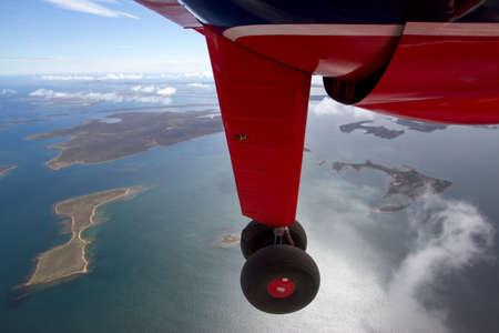 falkland: Flight over Falkland Islands