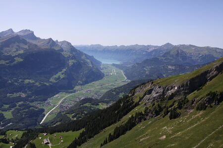 oberland: Haslital, valley in the Bernese Oberland Stock Photo