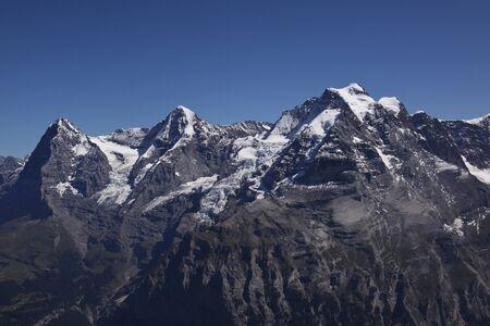 eiger: Eiger, Moench, Jungfrau in the Bernese Oberland