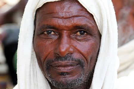 ethiopian ethnicity: Portrait of an Afar Farmer in Ethiopia