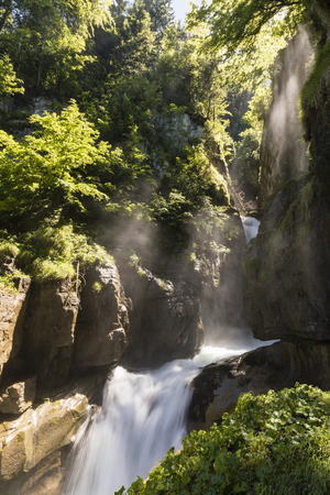 bernese oberland: Waterfalls Giessbach in the Bernese Oberland near Brienz, Switzerland