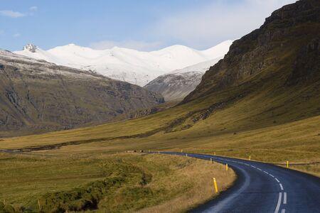 Ringweg nr. 1 in het zuiden van IJsland