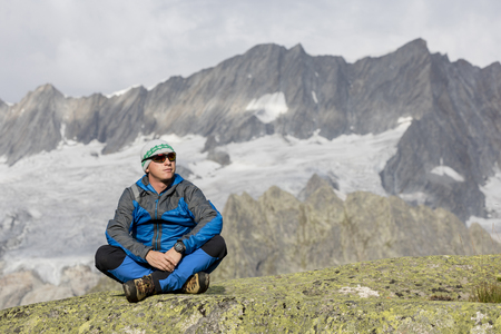 Alpinist enjoys freedom in the mountains