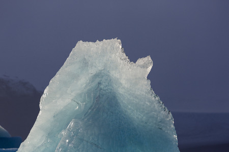Icebergs Ice, ice formation, details of ice from the Jokulsarlon glacial lagoon