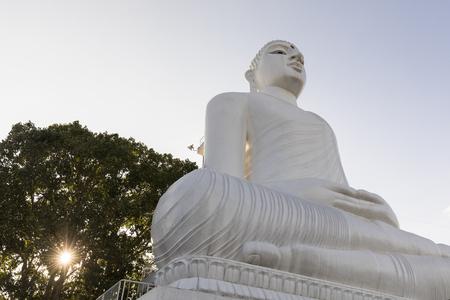 The magnificent sitting Bahiravakanda Buddha statue at Bahiravakanda Temple, EDITORIAL