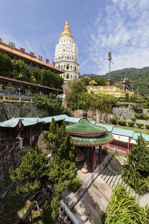 Buddhist temple Kek Lok Si with pagoda in Penang, Malaysia, Georgetown