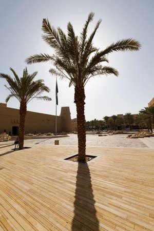 Old Al Masmak fort in downtown Riyadh, Kingdom of Saudi Arabia Imagens