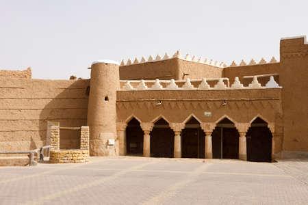 Shaqra, Saudi Arabia, February 16 2020: Shaqra is a traditional restored village made of clay bricks Editorial
