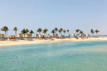 Beach on the Corniche in Jeddah, Saudi Arabia