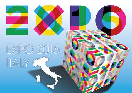 expo 2015 Vector