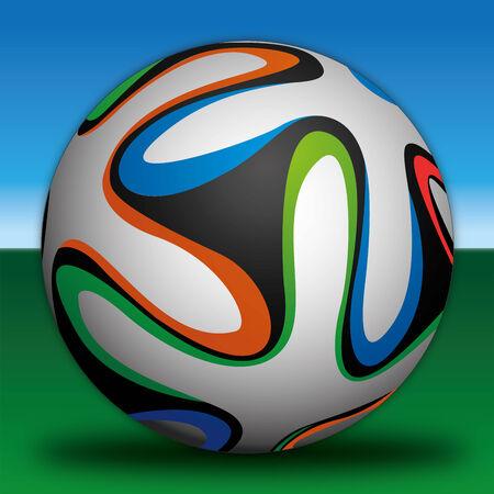 futbol soccer: football soccer Illustration
