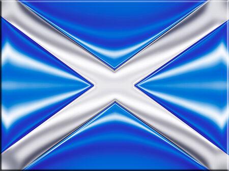 onu: scotland flag Stock Photo