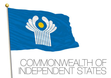 east berlin: Commonwealth of Independent states, csi flag