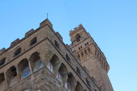 dante alighieri: Palace of Signoria, Florence, Italy