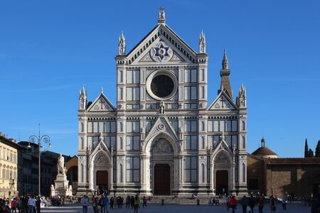 tuscan: Holy Cross Cathedral, Florence, Italy
