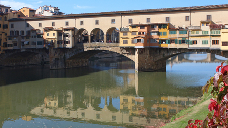 FLORENCE, ITALY - JUNE 2016, Pontevecchio on the Arno river
