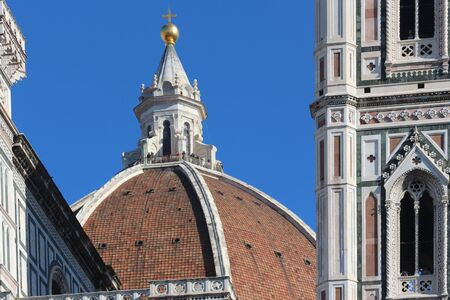 tuscan: Brunelleschis Dome, Florence, Italy Stock Photo