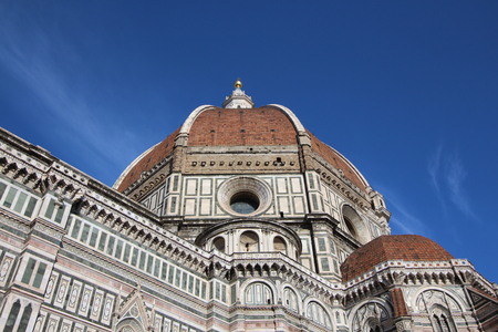 tuscan: Florence, Italy, Brunelleschis dome Stock Photo