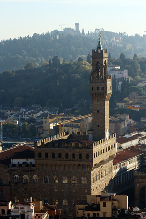 italy landscape: Florence, Italy, landscape