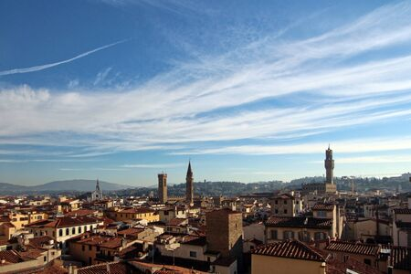 florence   italy: Florence, Italy, landscape