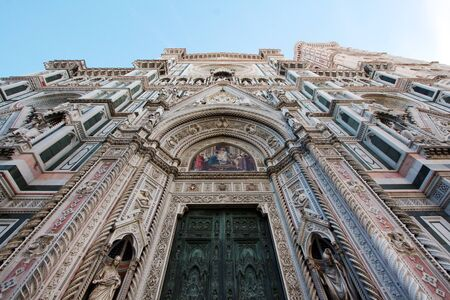 Florence, Italy, cathedral detail