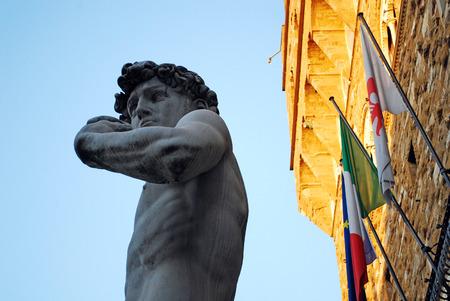 michelangelo: florence, italy, statue of David of Michelangelo
