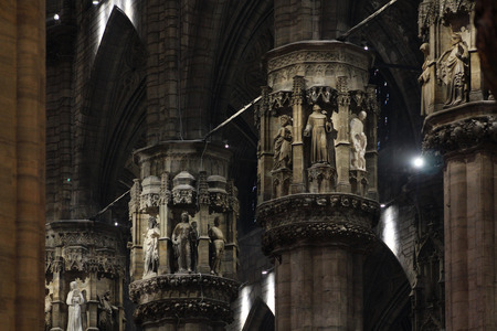 neo classical: milan cathedral, italy