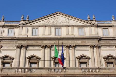 scala: theater La Scala, Milan, Italy