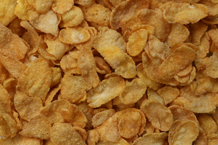 cornflakes: cornflakes texture Stock Photo