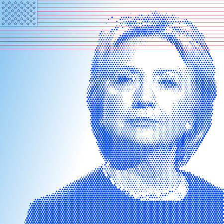 UNITED STATES - NOVEMBER 2016 - Hillary Clinton, candidate for president of the united states of america Editorial