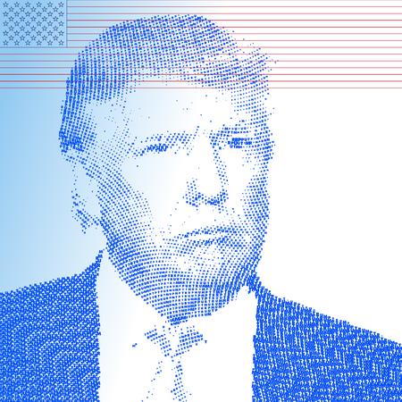 STATI UNITI - NOVEMBRE 2016 - Donald Trump, il presidente 45a degli stati uniti d'america Archivio Fotografico - 65162187