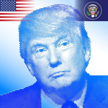 STATI UNITI - NOVEMBRE 2016 - Donald Trump, il presidente 45a degli stati uniti d'america Archivio Fotografico - 65599617